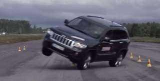مفاجأة في اختبار الثبات لبعض السيارات الـ SUV | فيديو