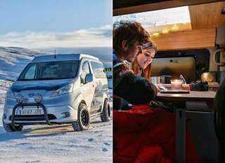 """""""الخيمة الشتوية"""" نيسان تكشف عن سيارتها الكهربائية الجديدة"""