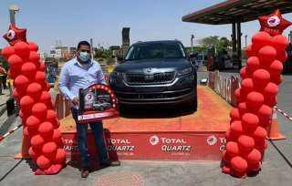 ٤ سيارات هدية للفائزين بمسابقة توتال كوارتز