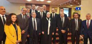 ختام المباحثات بين وزيرة التجارة والصناعة والشركات الروسية لتعزيز استثماراتها فى السوق المصرية